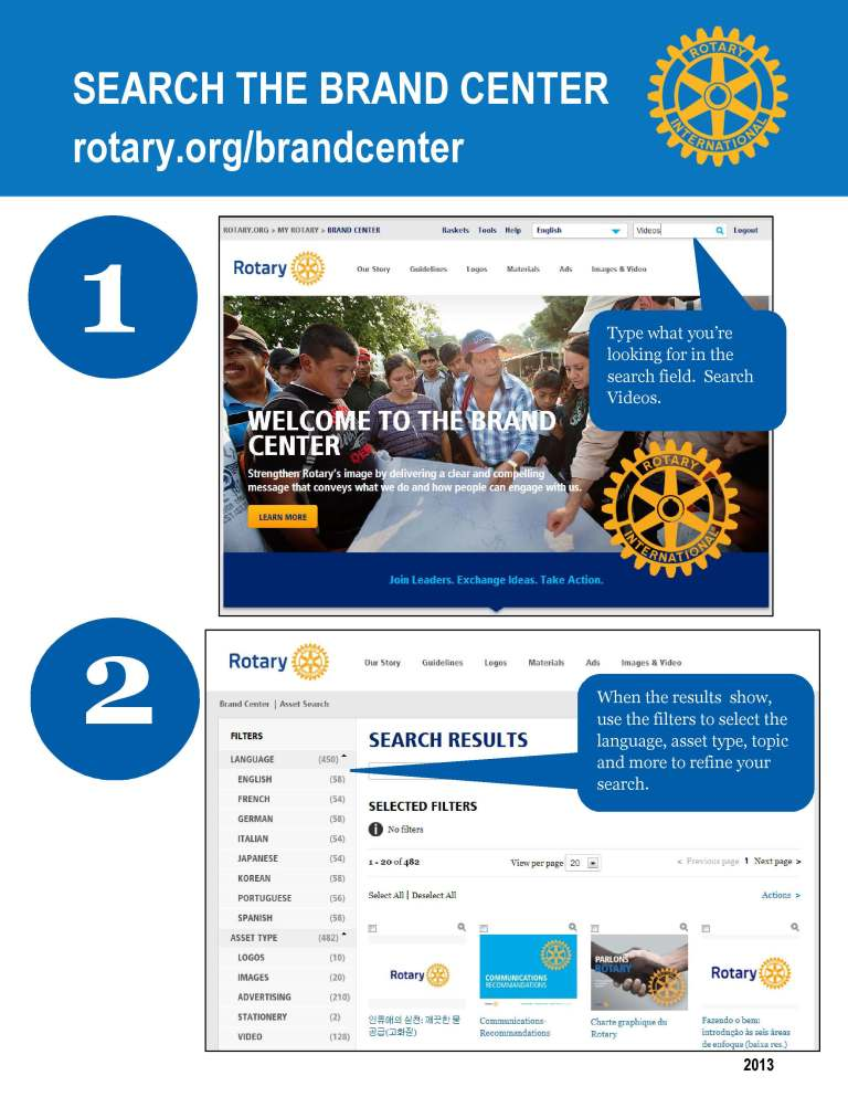 The New Rotary Brand Center