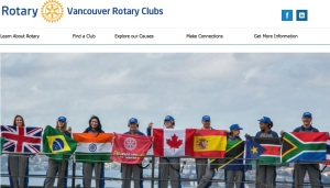The outward-facing website used by all clubs in the Vancouver area, and referenced on all external materials. The site is at www.vancouverrotaryclubs.com