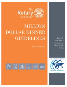Million Dollar Dinner Manual