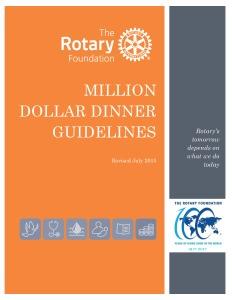 Million Dollar Dinner Manual